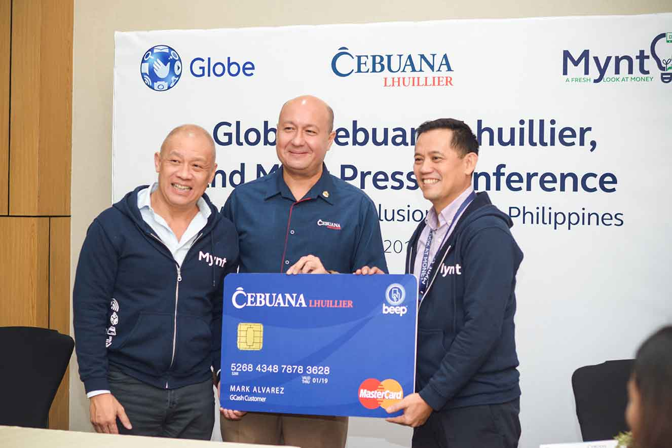 Globe, Cebuana Lhuillier, Mynt sign strategic partnership