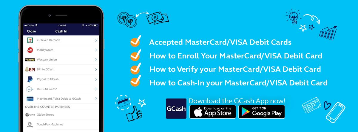 Debit Card Enrollment Information - GCash