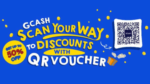 Instant Discounts with QR Voucher - GCash