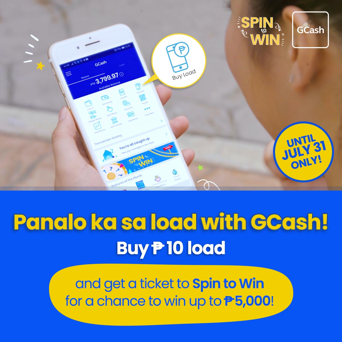Spin to Win! - GCash