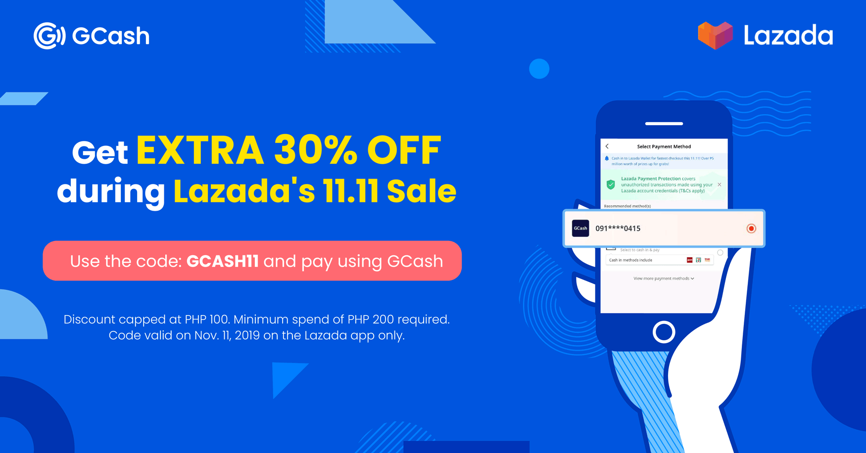 GCash x Lazada 11 11 Sale - GCash