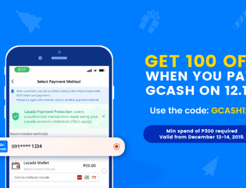 GCASH12 on Lazada 12.12