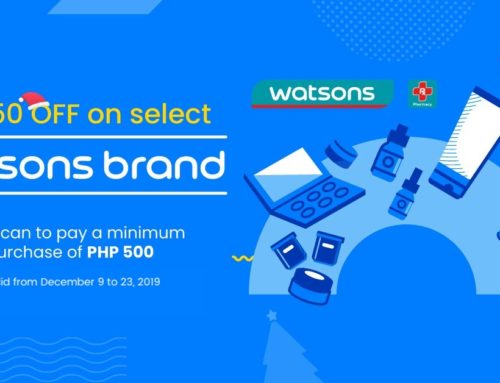 Watsons x GCash P50 Discount Promo