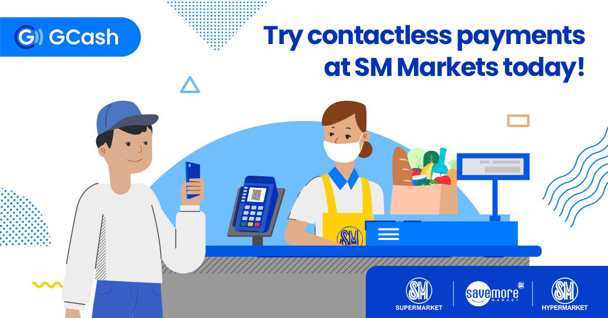 Start going cashless with contactless payments at SM Markets