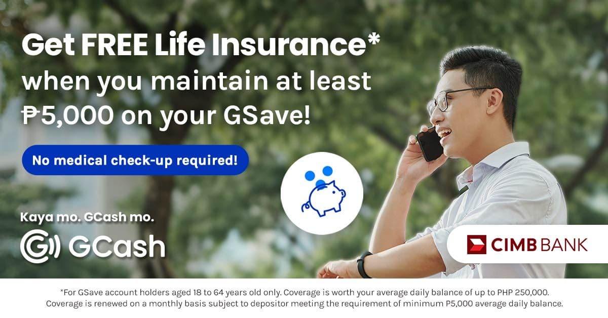 Promos - GSave Free Life Insurance - 1200x628 - Thumbnail